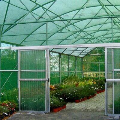 Φυτώριο Παράδεισος - Δίχτυ σκίασης