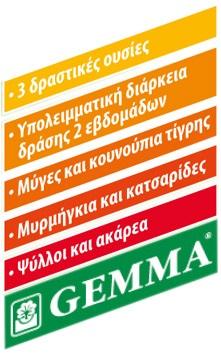 Eντομοκτόνο Gemma Draker RTU 400 ml