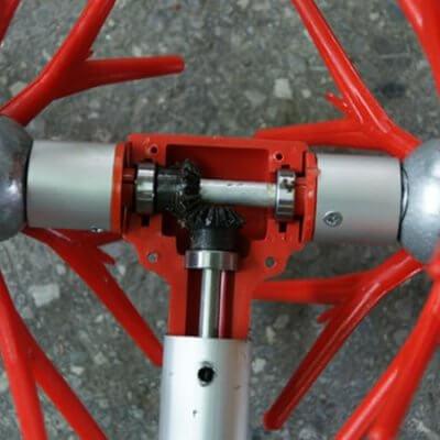Ελαιοραβδιστικό παλμικό τύπου αχινός KEFALAKIS Υ40- 2,80 m / 12V ή 24V