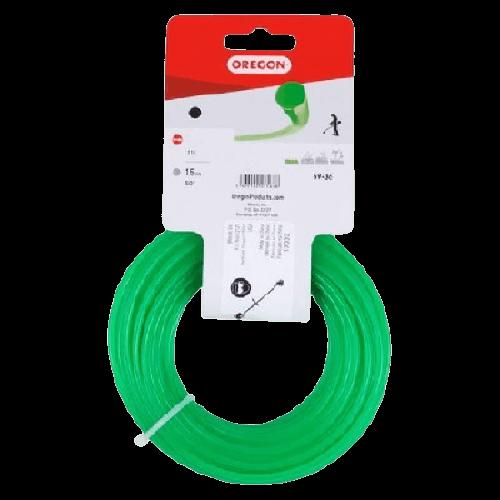 OREGON στρόγγυλη πράσινη 4 mm 30μέτρα