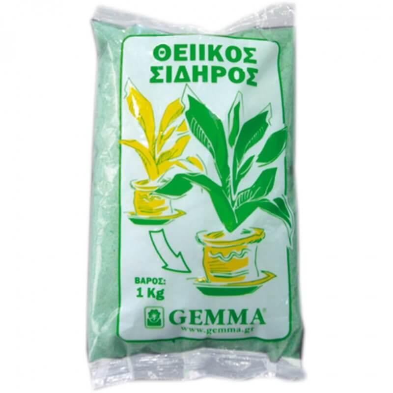 Θειικός σίδηρος, Gemma
