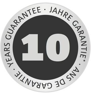 Εγγυήση Wolf Garten - 10 έτη